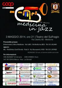 volantino serata jazz 2014