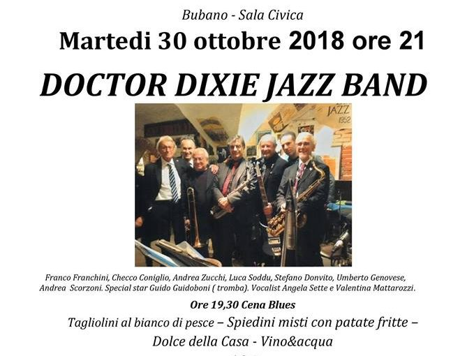 Doctor Dixie Jazz Band @ Bubano Blues 2018
