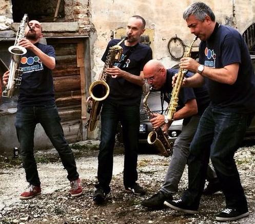 SaxLab @ Ferrara Buskers Festival