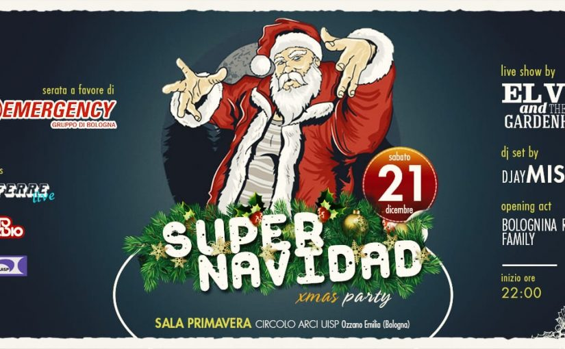 El V and the GardenHouse @ SUPER Navidad Party!