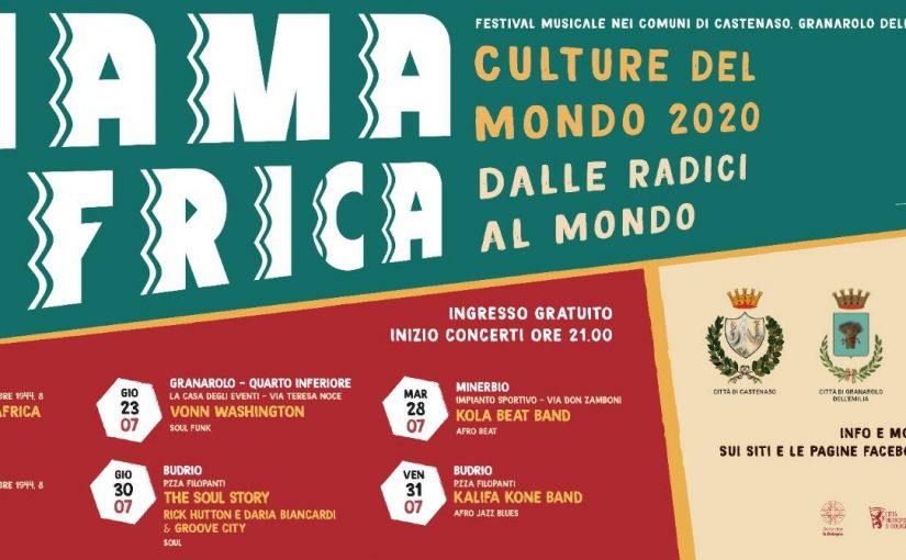 Mama Africa - Culture del Mondo 2020